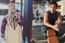 7 Potret ustaz Riza Muhammad pamer tubuh kekar, tampil beda