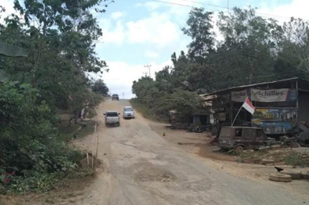 Potret kondisi akses ibu kota baru di Kalimantan Timur