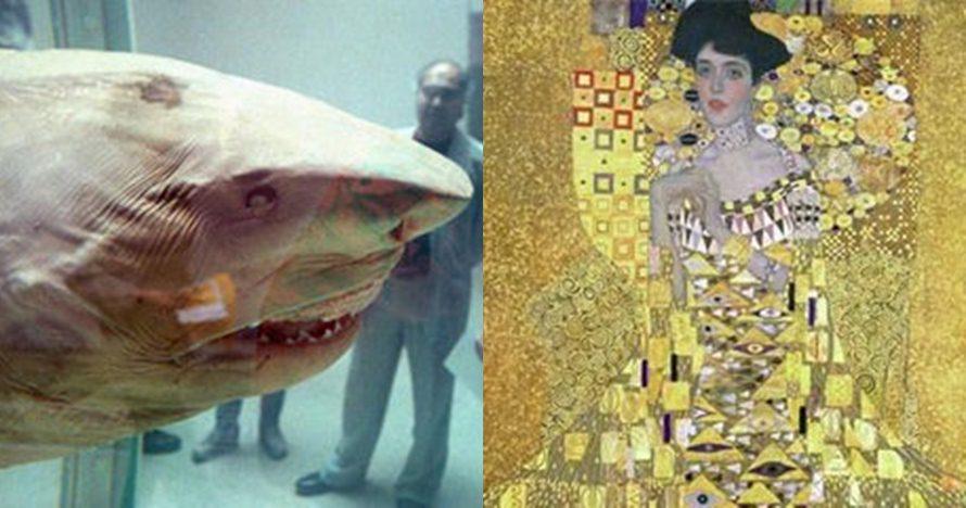 9 Koleksi unik milik miliarder, ada hiu awetan