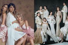 13 Gaya pemotretan Girl Squad, pakai baju tidur sampai kebaya