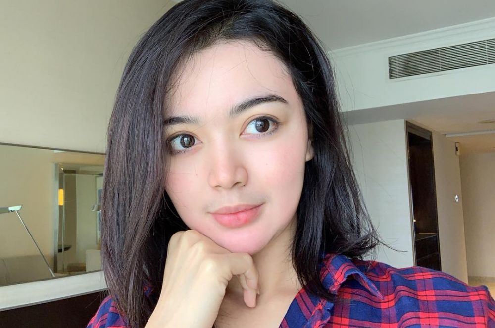 wika salim no makeup  © 2019 brilio.net