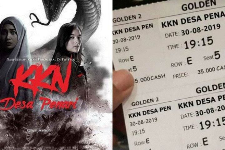 10 Pelesetan poster film bertema KKN Desa Penari ini bikin nyengir