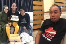 Denny Cagur ultah ke-42, hadiah dari Azis Gagap curi perhatian