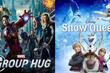 10 Film Hollywood ini judulnya beda sebelum dan setelah dirilis