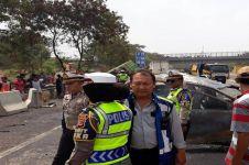 Kronologi kecelakaan maut 21 kendaraan di Tol Cipularang, 9 tewas