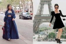 11 Gaya Nindy Ayunda saat liburan di Eropa, stylist abis