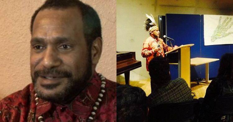 Benny Wenda, sosok yang disebut aktor intelektual kerusuhan Papua