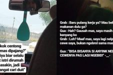 10 Obrolan absurd driver ojek online dan penumpang ini lucu abis