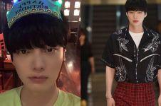 Muncul perdana usai kabar cerai, wajah Ahn Jae-hyun curi perhatian