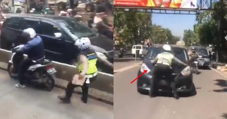 Kisah unik 5 polisi tilang pelanggar lalu lintas, asli bikin jera