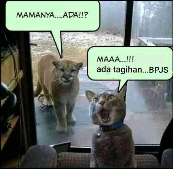 meme lucu iuran bpjs naik © berbagai sumber