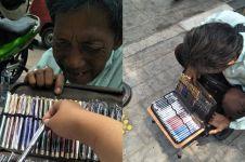 Jual pulpen demi bertahan hidup, kisah pilu kakek ini bikin mewek