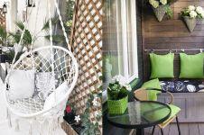 15 Desain balkon untuk rumah minimalis, keren dan bikin nyaman