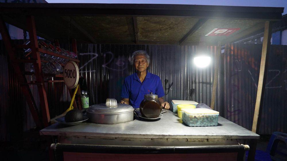 Setyanto bajigur Tamansari © 2019 brilio.net