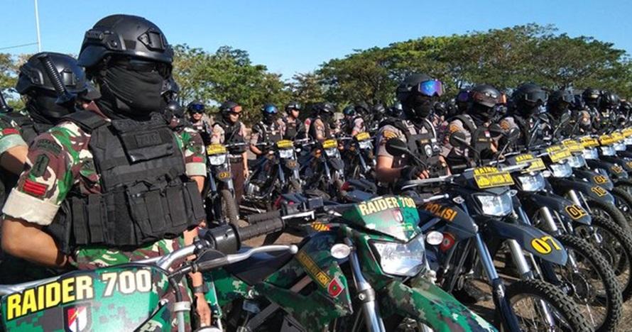 11 Ribu personel TNI-Polri siap amankan laga Indonesia vs Malaysia