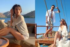 Intip gaya liburan 7 seleb di Labuan Bajo, mewah dan seru abis