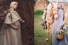 Inspirasi gaya maternity 10 seleb berhijab, simpel dan elegan