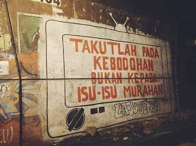vandalisme zaman now  Istimewa