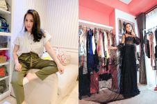 Penampakan ruang koleksi outfit fashion 7 seleb, bikin melongo