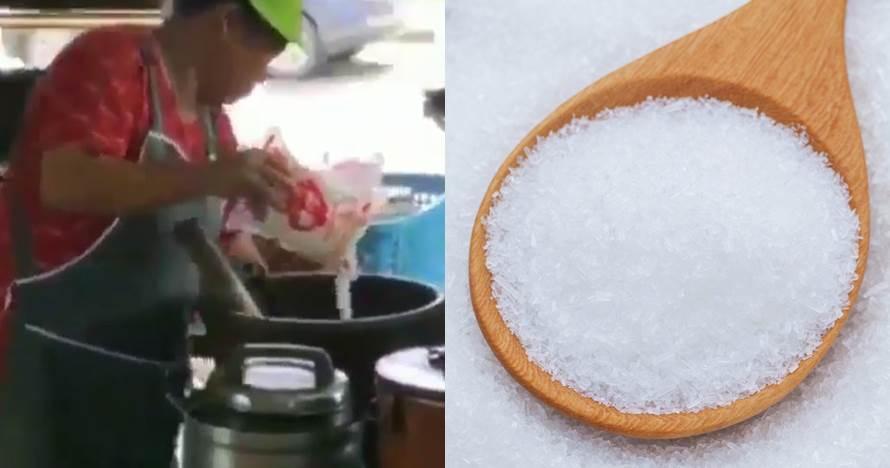Viral emak-emak memasak pakai banyak micin, begini faktanya