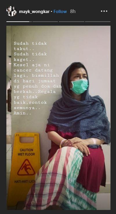 Ria Irawan kanker lagi  © 2019 brilio.net