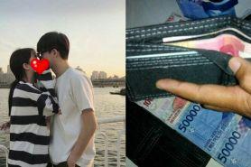Diam-diam beri uang ke dompet tunangan, alasan cewek ini tak terduga