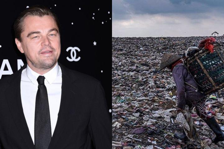 Leonardo DiCaprio soroti lautan sampah di TPST Bantar Gebang