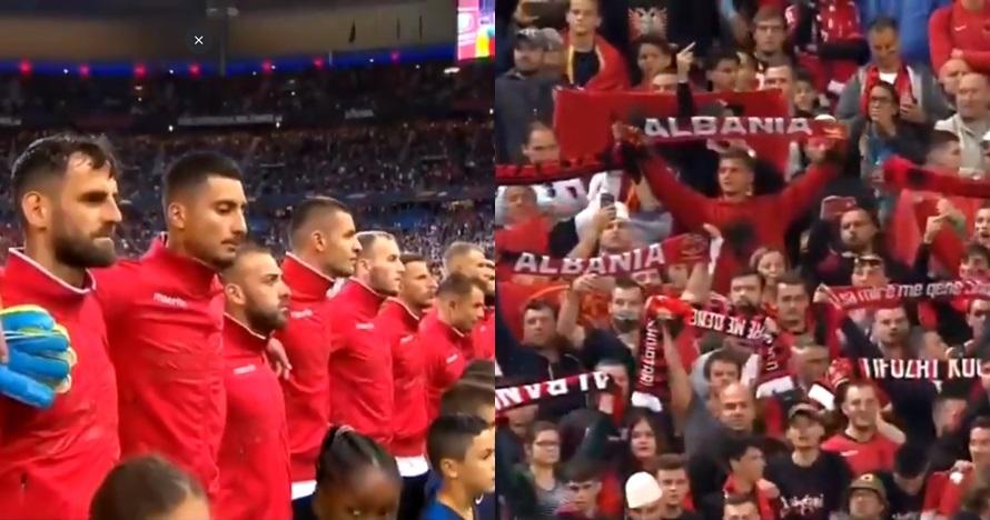 Lagu kebangsaan salah, Timnas Albania sempat tolak lawan Prancis