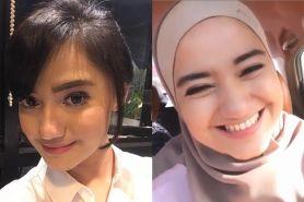 Resmi jadi mualaf, ini 9 pesona Marcella Simon kenakan hijab