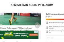 Puluhan ribu warganet teken petisi 'Kembalikan Audisi PB Djarum'