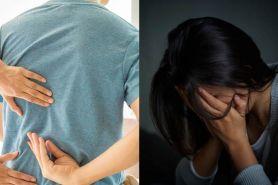 5 Penyakit serius ditandai sakit punggung, jangan disepelekan