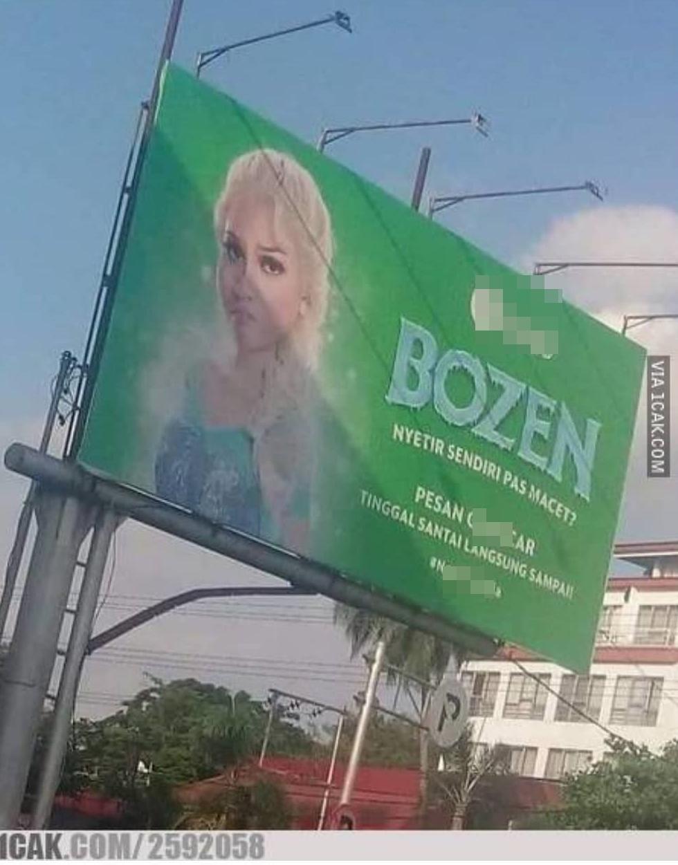promosi di billboard © 2019 berbagai sumber
