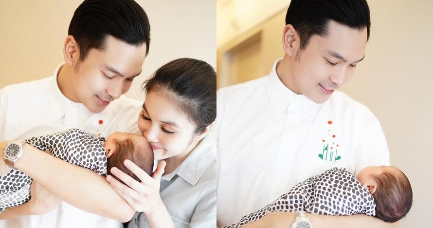 5 Momen Sandra Dewi dan suami bareng anak kedua, gayanya disorot