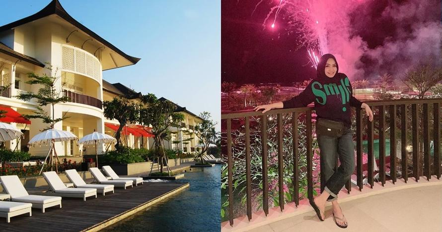10 Potret hotel & resort milik ibu Nagita Slavina seluas 3,4 hektar