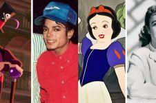 12 Karakter Disney ini terinspirasi dari tokoh di dunia nyata