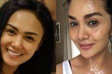Sama-sama cantik, ini 6 potret Yuni Shara vs Krisdayanti tanpa makeup