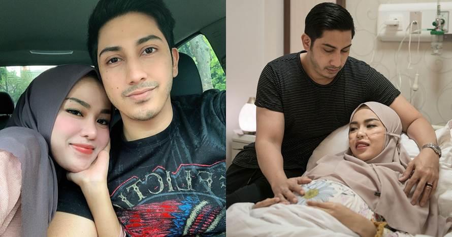 Momen haru Medina Zein adik ipar Ayu Azhari melahirkan anak pertama