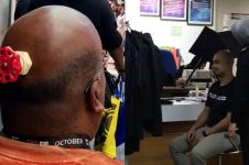 10 Kelakuan nyeleneh orang botak ini bikin geleng kepala