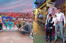 8 Momen seru Fairuz A Rafiq dan keluarga liburan di Korea Selatan