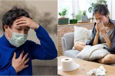 Sepele mirip masuk angin, ini 5 gejala sakit akibat polusi udara parah