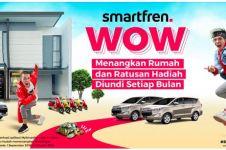 Smartfren bagi-bagi motor, mobil, & rumah buat kamu, ini caranya
