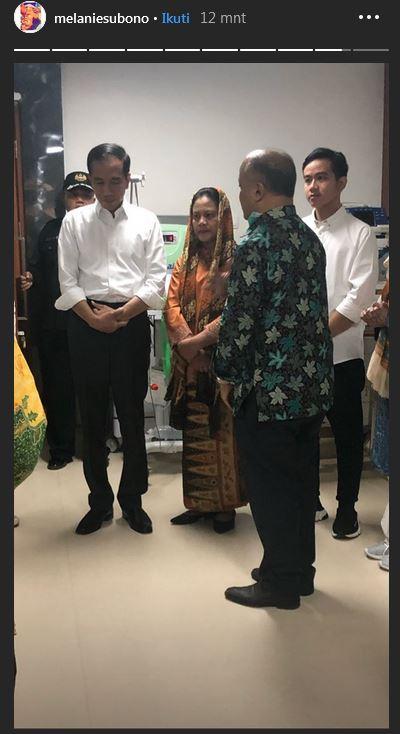 Jokowi bersama keluarga datang RSPAD istimewa