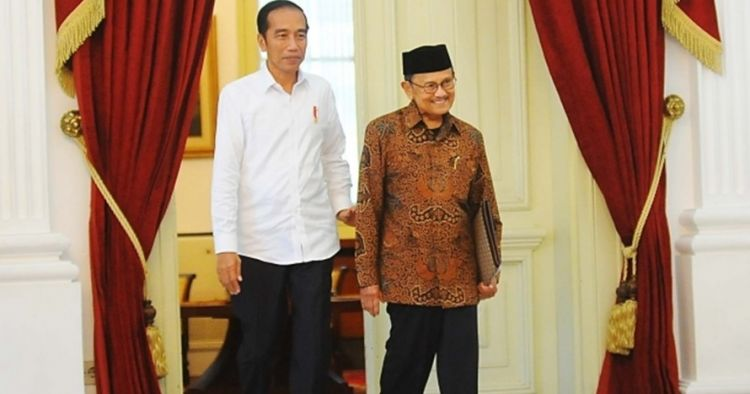 BJ Habibie meninggal, Jokowi bersama keluarga datang RSPAD