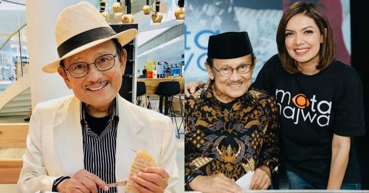 Ditanya Najwa Shihab, BJ Habibie mengaku tidak takut mati