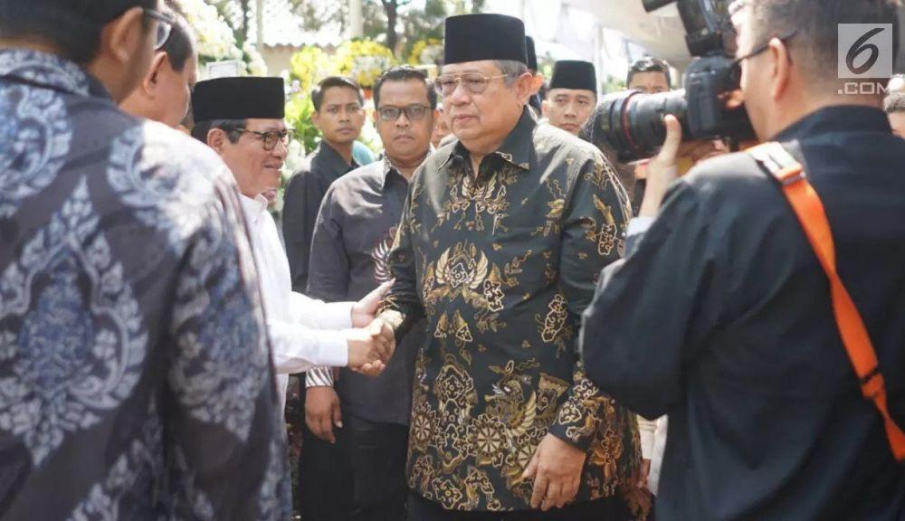 SBY melayat Habibie liputan6