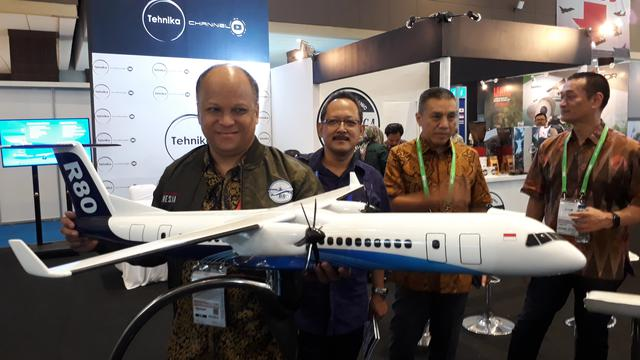 Pesawat buatan BJ Habibie Liputan6.com