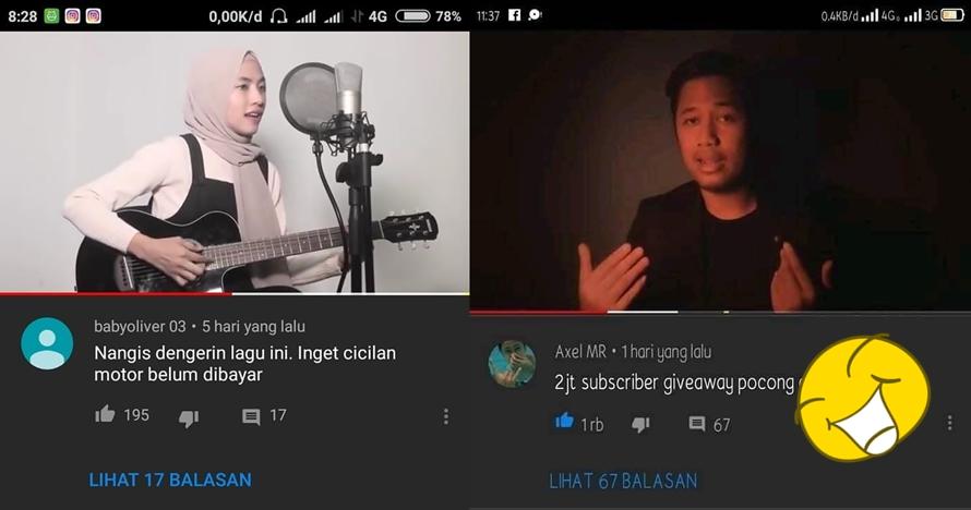 10 Komentar ngaco di YouTube ini lucunya bikin tepuk jidat