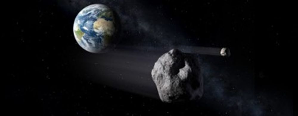 asteroid nabrak bumi © 2019 nasa.gov