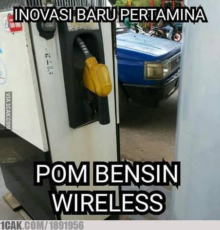 wireless kocak ala warganet Istimewa