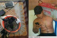 10 Lifehack charger handphone ala warganet ini bikin tepuk jidat